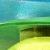 Tons bleu/vert